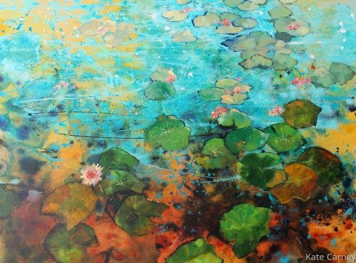 Lily Pads in Abstraction