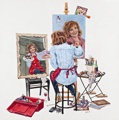 Kathi Dugan: Self Portrait