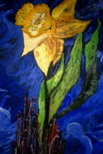 daffodil Brewster in Bloom