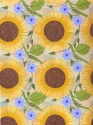 Sunflowers and Morning Glories (thumbnail)