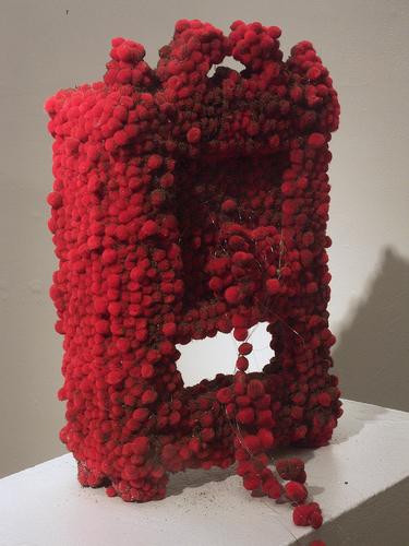 Absence Presence MFA Exhibition Big Pom-Pom 2010