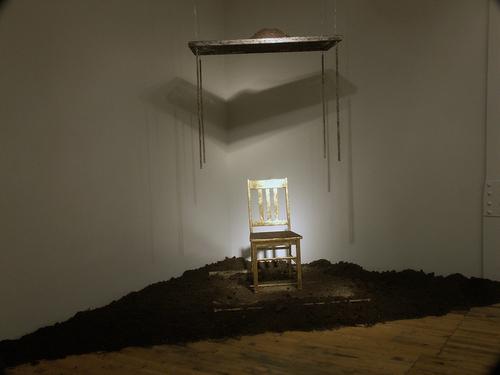 Absence Presence MFA Exhibition Sitting 2010