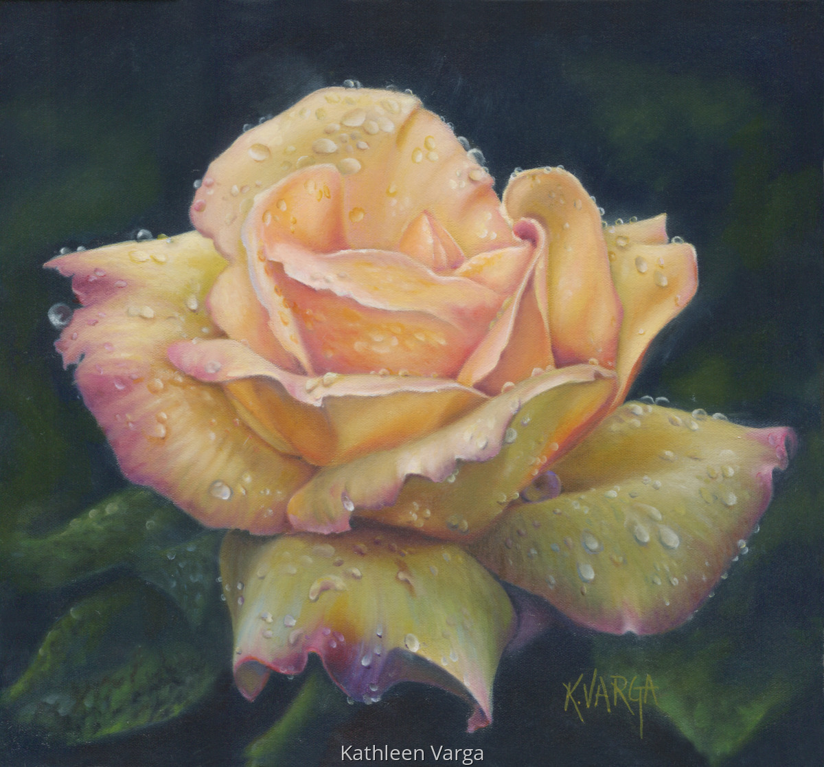 """""""PEACE ROSE"""" (large view)"""