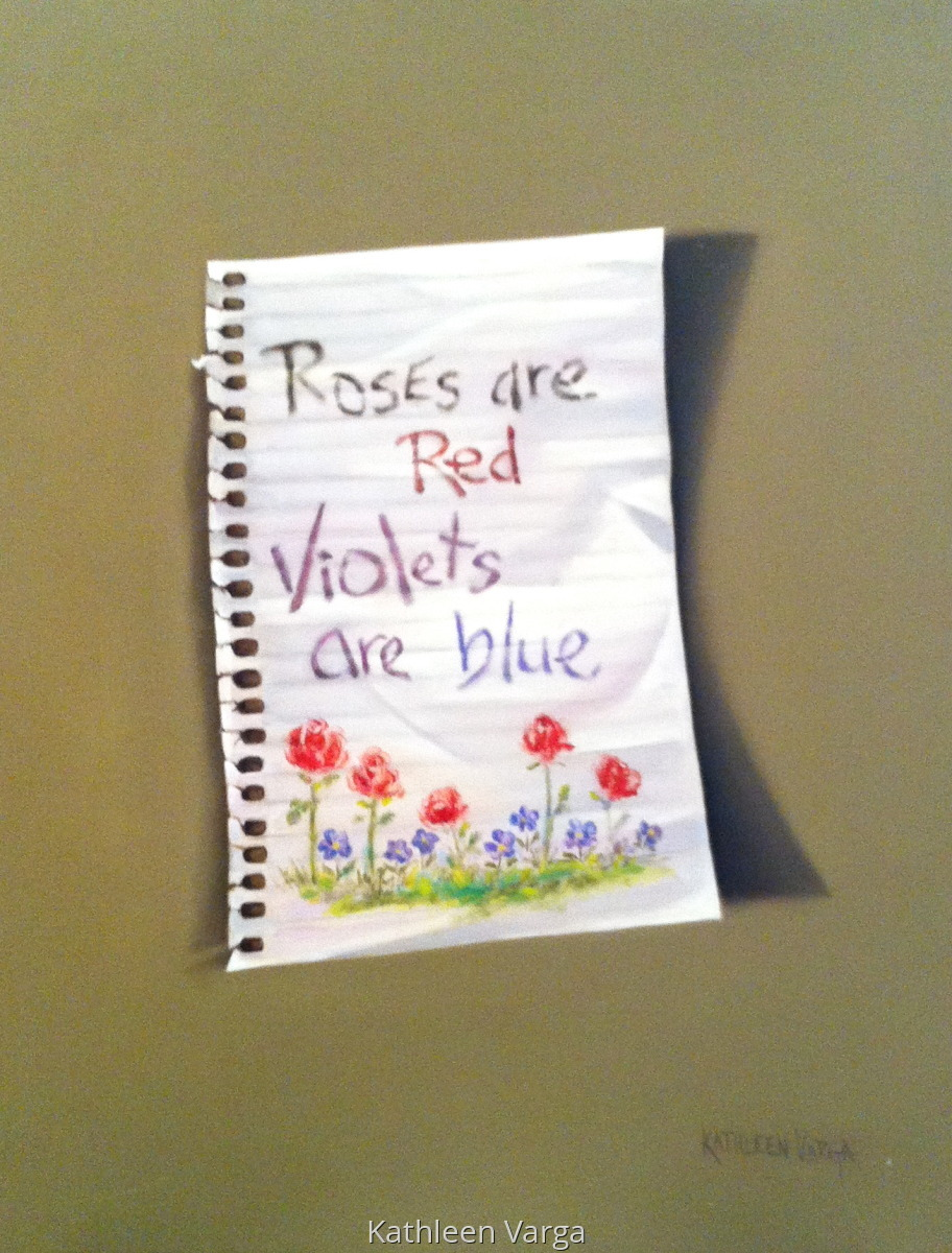 """""""ROSES ARE RED"""" (large view)"""