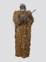 shaman, mixed media, clay, ceramic, figurative, sculpture, native, indigenous