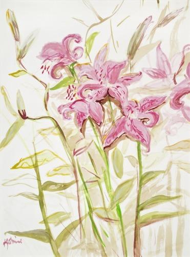 Lilies by Katharine Holmquest Poole