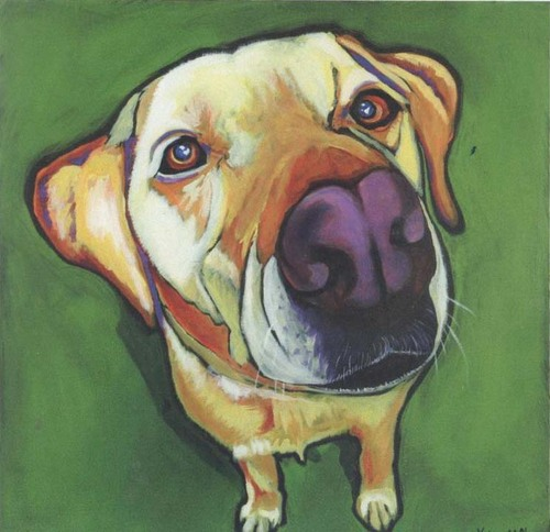 Green Dog by Kathryn Wronski