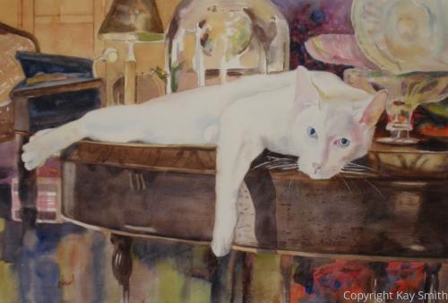 Sinatra White Kitty