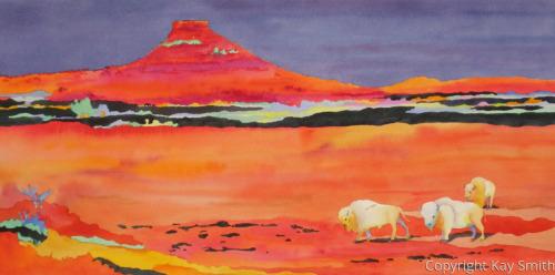 Red Mesa Buffalo