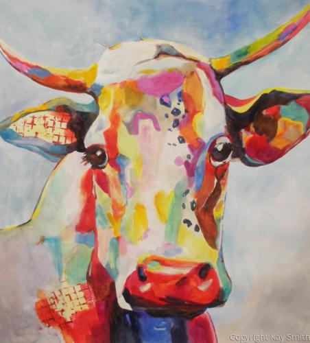 Contemporary Cow