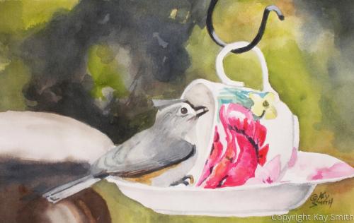Cup and Saucer Bird