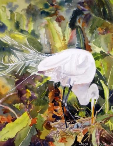 Egret Nest