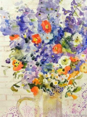 Delphinium Blue Lace Bouquet