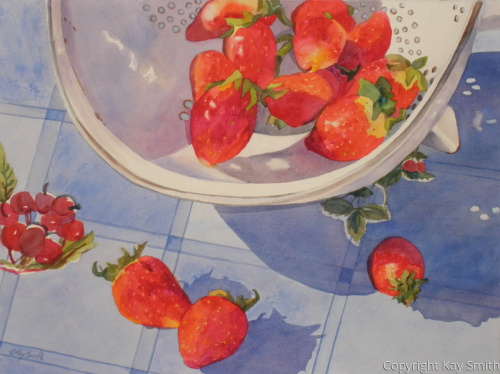 Spilling Strawberries