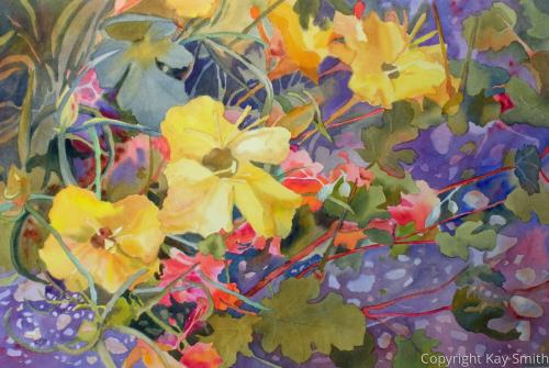 Spring Primrose Wildflowers