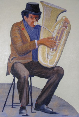 Madrid Street Musician