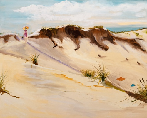 Sand Dunes the Hamptons