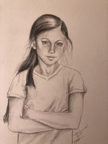 Drawing of Tessa