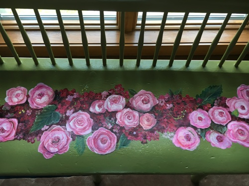 Roses Bench