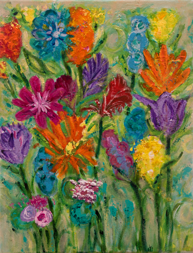 Bright Blooms by Kanak Bhasin