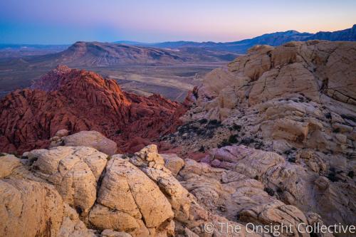 Pink Desert Layers