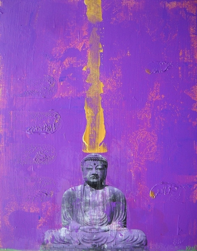 Buddha Pop Purple