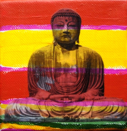 Buddha Pop Stripe