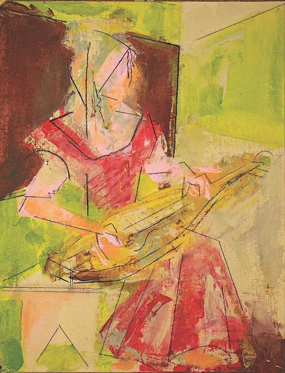 Katie with Dulcimer (large view)