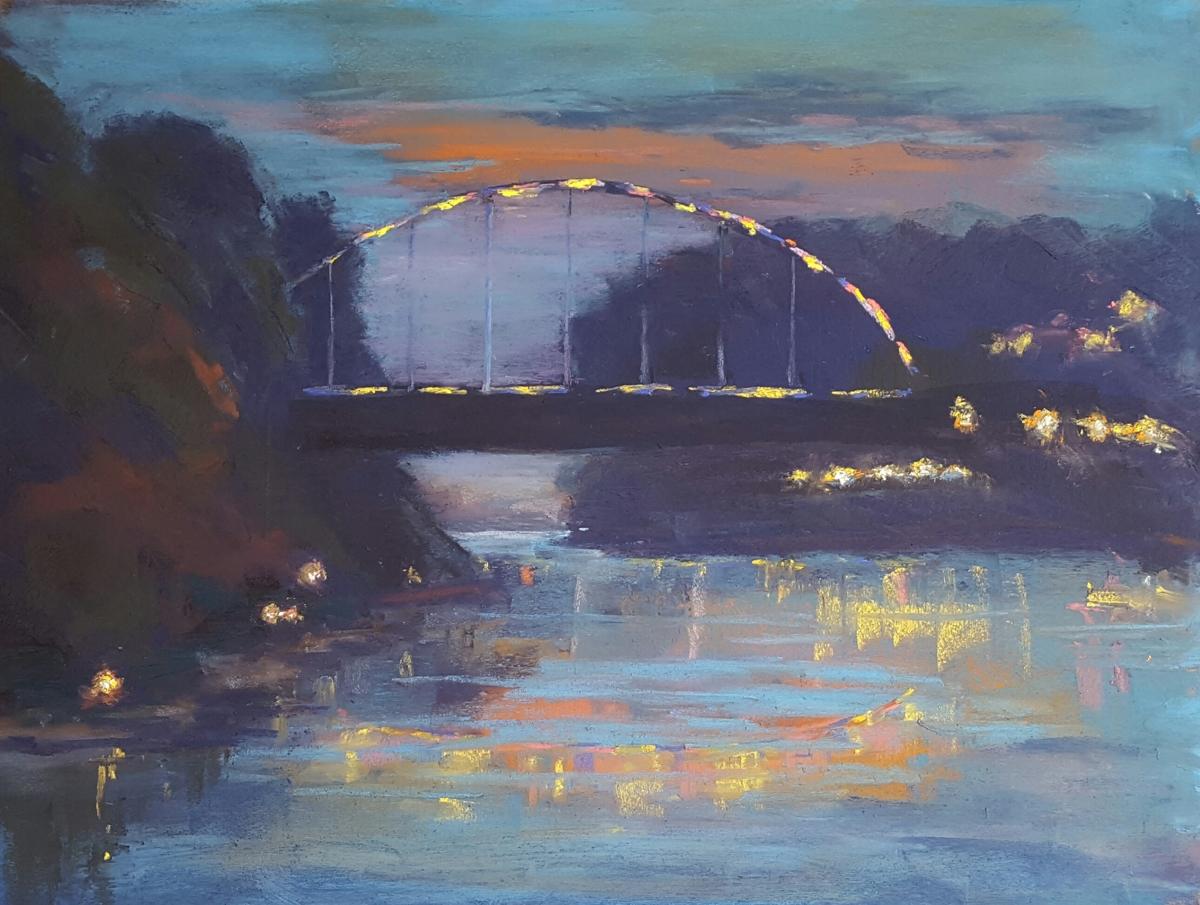 Bridge Lights & Shore Lights (large view)