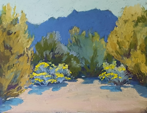 Chamisa Blue Mountain