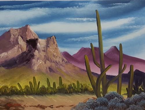 Bob Ross' Desert Hues