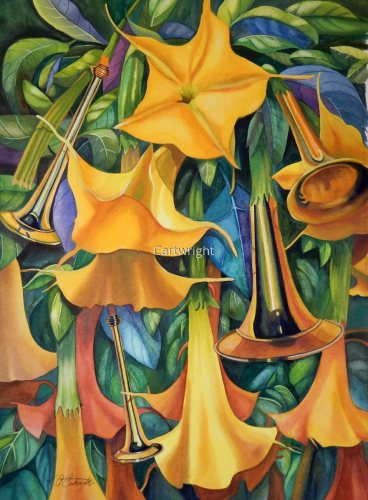 Trumpets by Katharine A. Cartwright