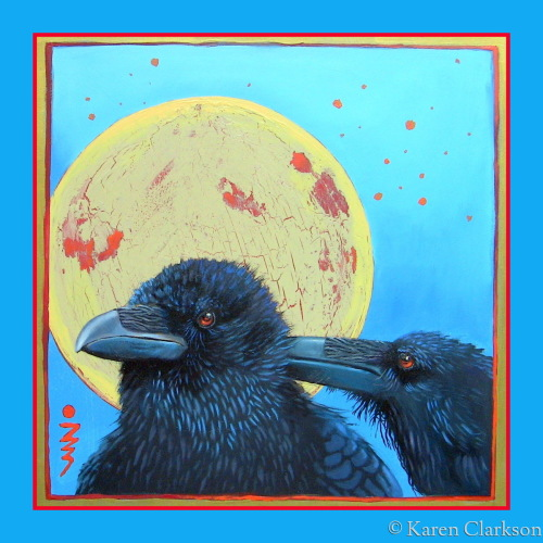 Ravens in Love by Karen Clarkson