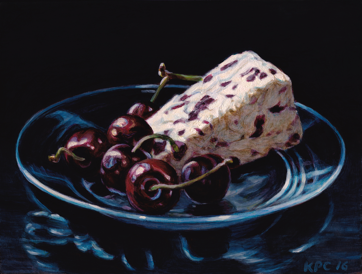Cranberry Stilton and Cherries (large view)