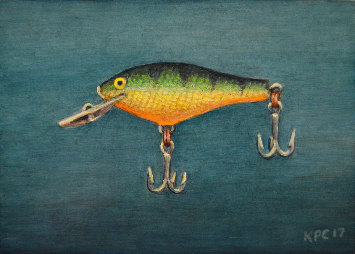 Perch Fishing Lure (large view)