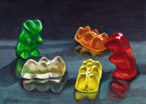 Gummy Group by Kenneth P. Cobb
