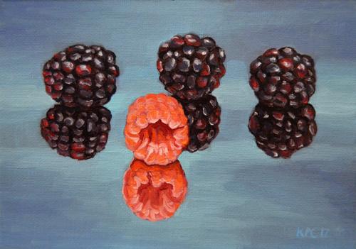 Raspberry Reflection