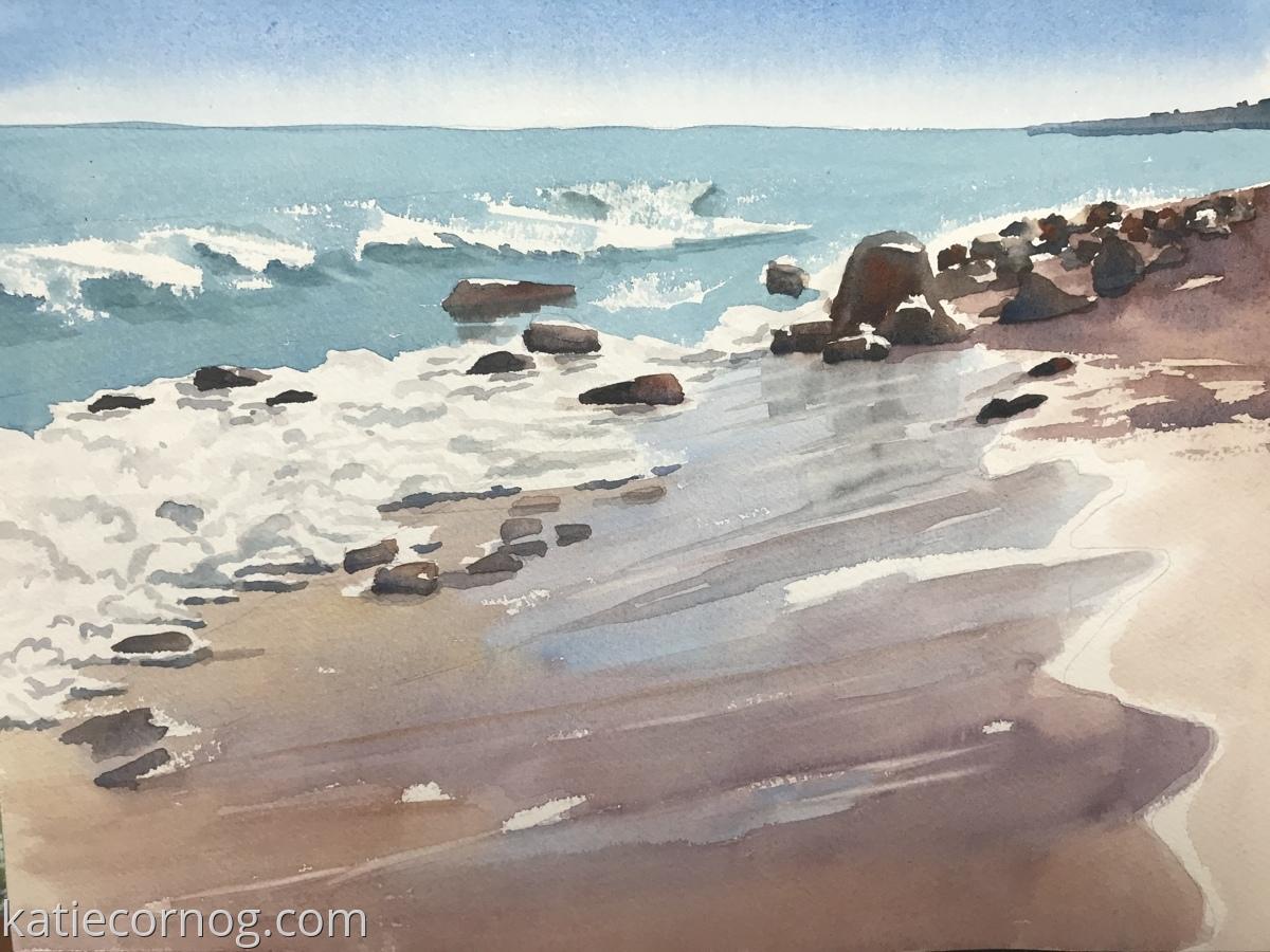 Rhode Island Beach (large view)