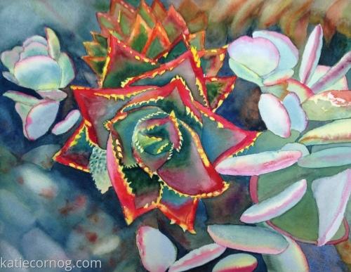 California Succulent II by Katie Cornog