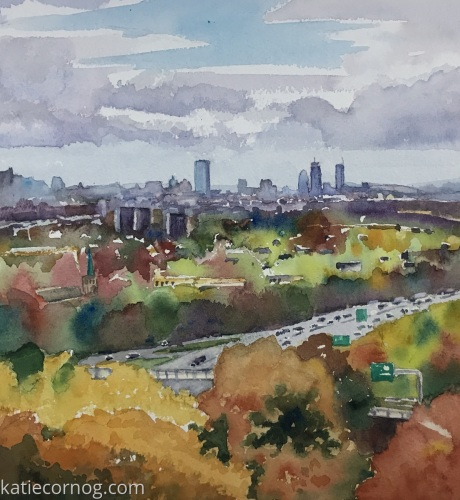 Boston from the North