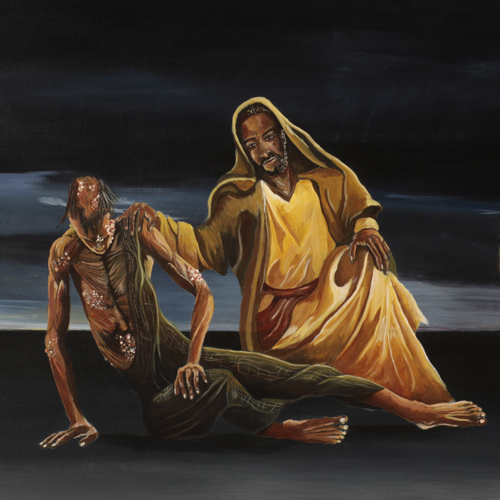 Christ and the Leper