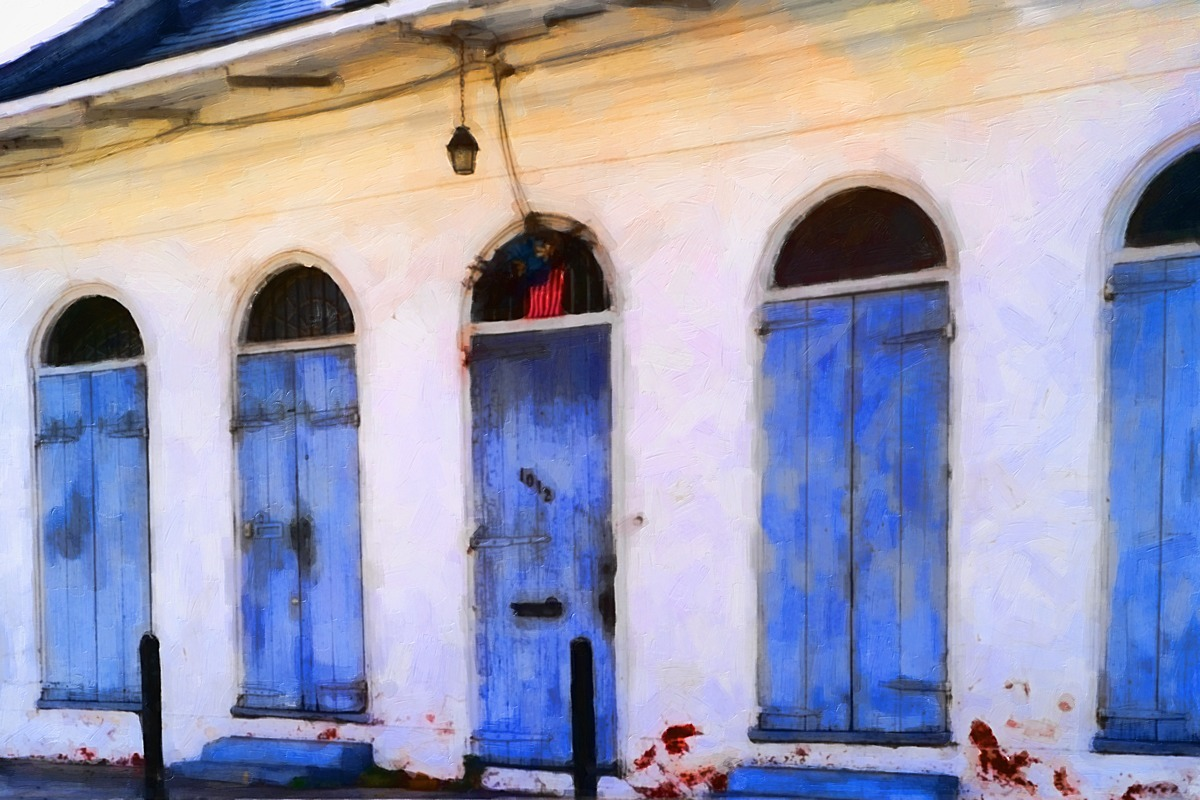 BLUE DOORS (large view)