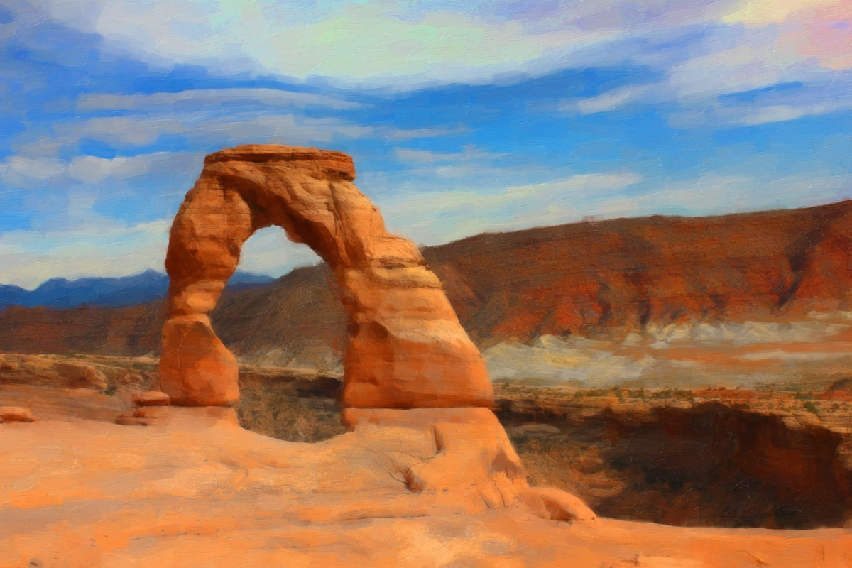 DELICATE ARCH (large view)