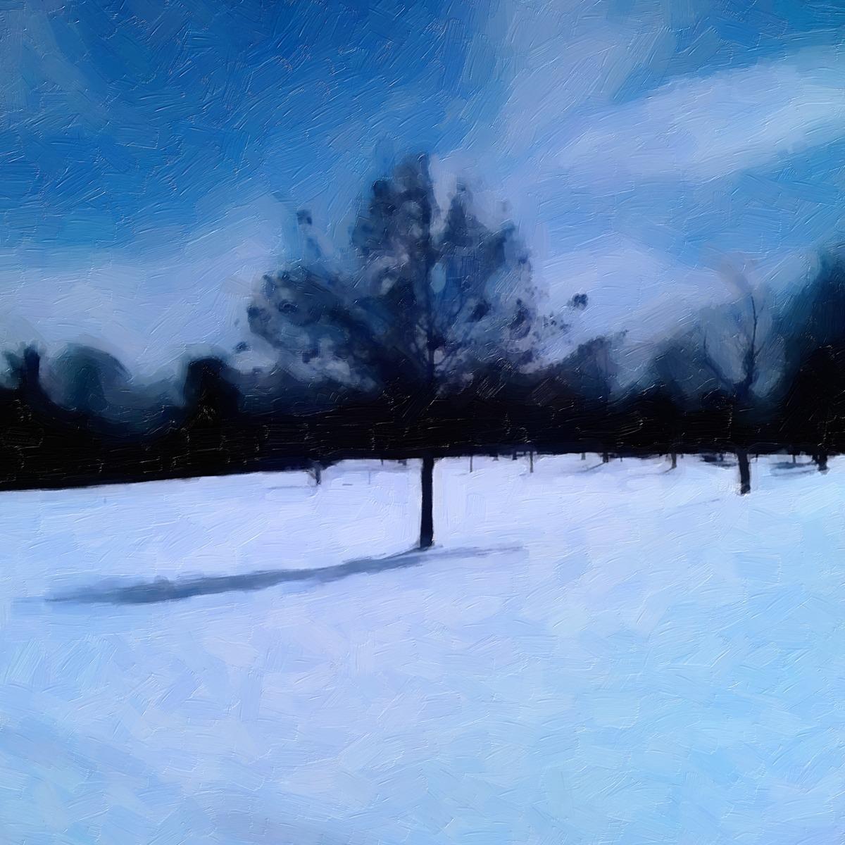 SNOW TREE (large view)