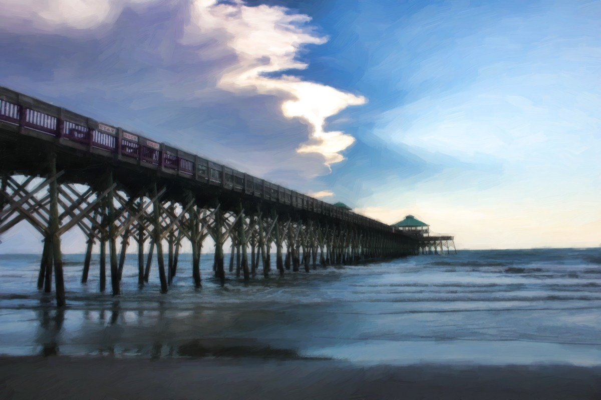 SUNSET PIER (large view)