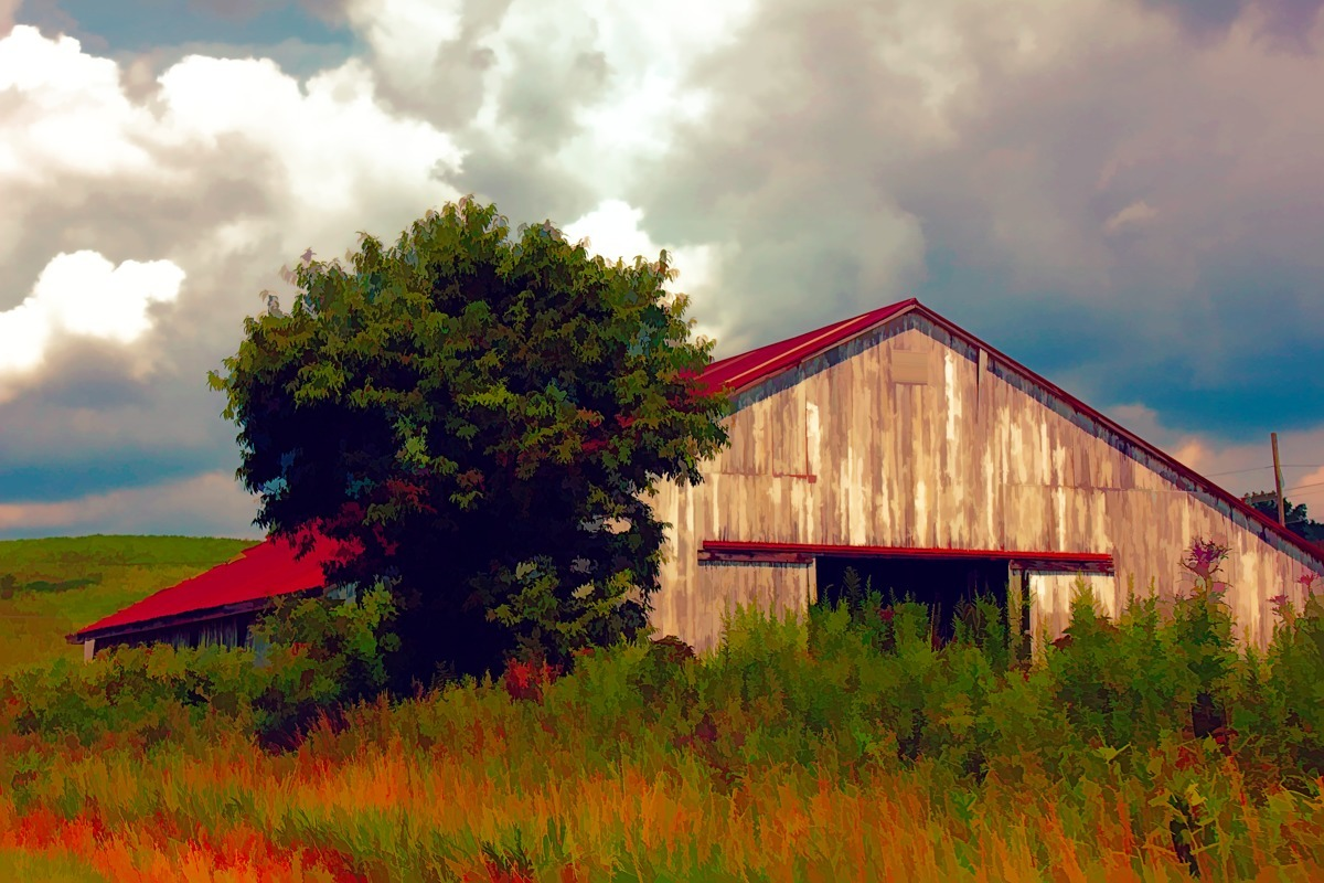 SUNSET BARN (large view)