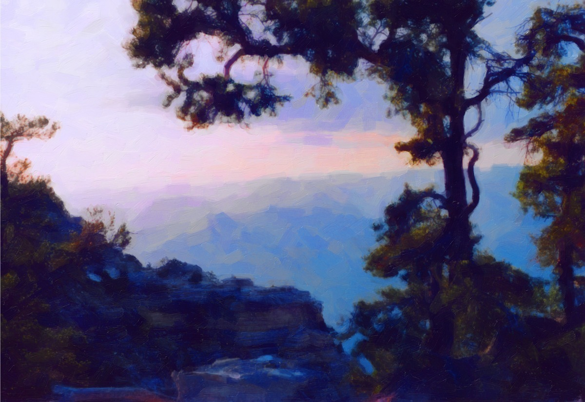 NEW GRAND CANYON SUNSET (large view)