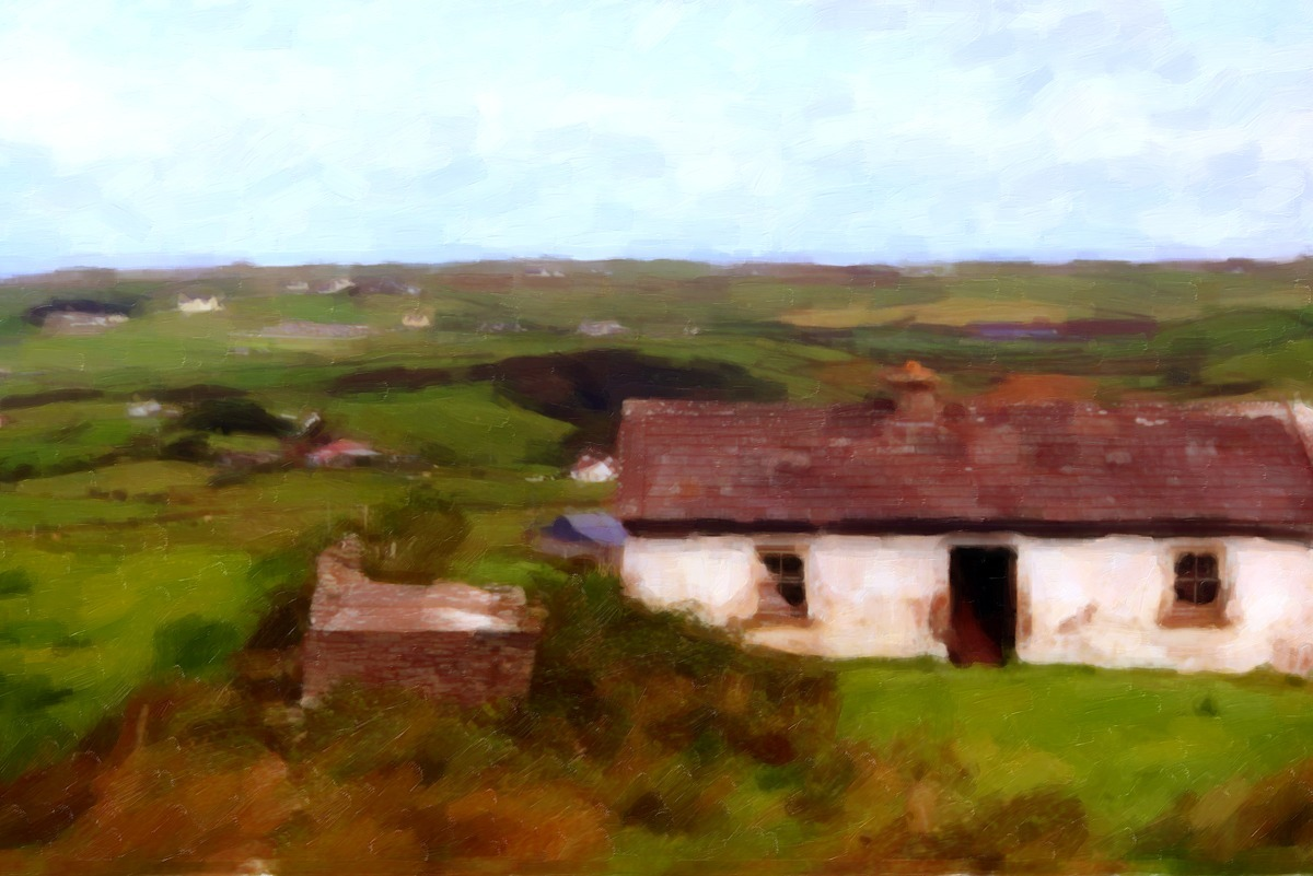 HOUSE IN THE FIELD (large view)