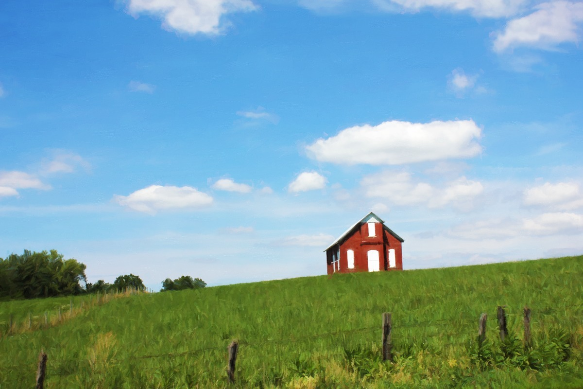 LITTLE RED SCHOOLHOUSE (large view)