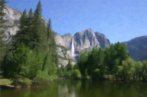 YOSEMITE FALLS (large view)